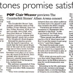 The Counterfeit Stones press clipping
